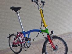 vélo pliant Brompton amélioré