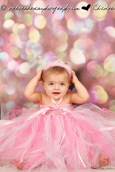 1st 2nd 3rd 4th Birthday Pink Tulle Tutu Dress by sweethearttutus