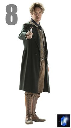 "New BBC promo photo of Paul McGann as the Eighth Doctor in ""The Night of the Doctor."" 