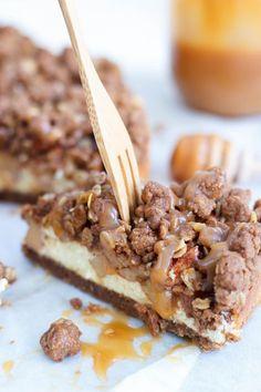 Appelkruimelcheesecake