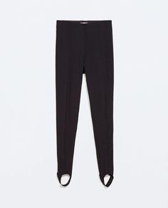 TECHNICAL FABRIC LEGGINGS from Zara