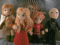 House Lannister, Game of Thrones amigurumi Moñacos, cosicas y meriendacenas