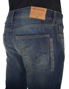 True Religion Mens Jeans Size 33 1/4 Mick Slouch NO Flap SE VNICE NGHTS NWT $228 #TrueReligion #SlimSkinny