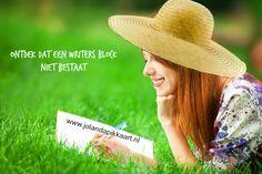 Ontdek dat een writers block niet bestaat