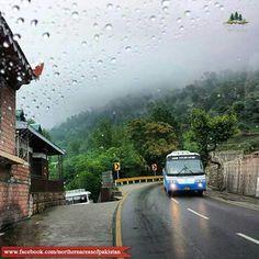 Drizzling in Murree, Pakistan