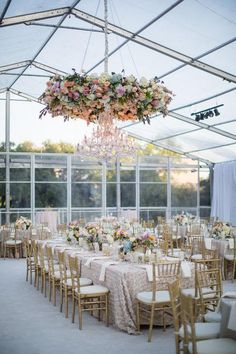 A greenhouse-like reception space with views of the sky? Love. Click to see some of our favorite real-wedding photos from this past year.