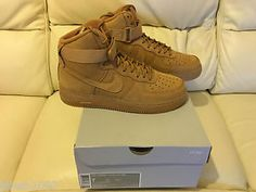 nike air force 1 one high wheat flax lv8 all sizes uk 6 12 limited edition new