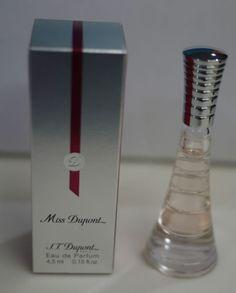 S.T. Dupont Miss Dupont Eau De Parfum 0.15 oz / 4.5 ml Mini Women Perfume NIB