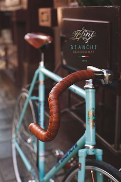 Fixed Gear Bike Bianchi Rekord