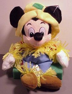 Disney Bean Bag Plush Mickey Mouse Scarecrow @ niftywarehouse.com #NiftyWarehouse #Disney #DisneyMovies #Animated #Film #DisneyFilms #DisneyCartoons #Kids #Cartoons