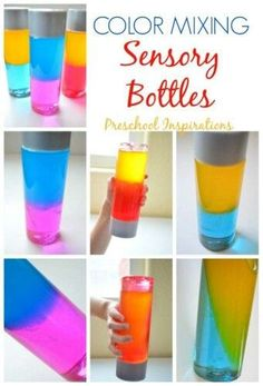Color Mixing Bottle