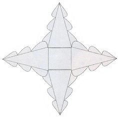 Voorbeeld v kerstboom