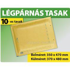 LÉGPÁRNÁS TASAK BARNA W10 BORÍTÉK K/20 - LÉGPÁRNÁS TASAKOK BORÍTÉKOK