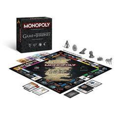 So haben Sie die epische Serie sicher noch nicht erlebt! Game of Thrones gibt es jetzt als Monopoly-Version und verzaubert das heimische Wohnzimmer in die Welt von Westeros. Eine Welt voller Intrigen, Mord und Verrat. Unsere Empfehlung für den nächsten Spieleabend!
