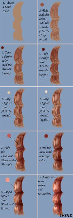 How to draw hair in Paint Tool SAI by Cristo69 on deviantART