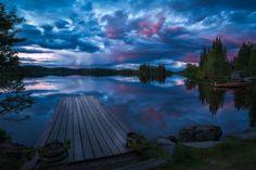 https://flic.kr/p/Wy4DsN | Blues | A local lake in Ringerike, Norway.
