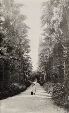 1911 ~ At the National Garden of Athens