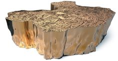Boca do lobo eden coffee table gold brass 02 pic on Design You Trust Metal Furniture, Unique Furniture, Table Furniture, Contemporary Furniture, Luxury Furniture, Home Furniture, Furniture Design, Furniture Ideas, Mahogany Furniture