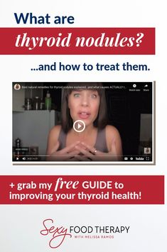 Thyroid nodules are incredibly common. In fact it begs the question: What causes thyroid nodules and how do you treat thyroid nodules naturally? Thyroid Nodule Symptoms, Thyroid Nodule Treatment, Hormone Imbalance Symptoms, Adrenal Fatigue Treatment, Thyroid Nodules, Hypothyroidism, Adrenal Health, Gut Health, What Is Thyroid