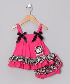 Super Cute Ruffle Dress & Diaper Cover!  http://www.zulily.com/invite/jpalmer893/p/damask-hot-pink-ruffle-dress-diaper-cover-infant-24418-2046230.html?tid=referral_pinterest