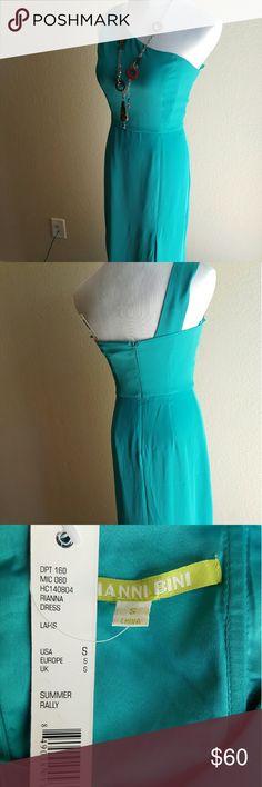 GIANNI Bini Dress Elegant, one shoulder Gianni Bini  Dress. Shell 100% polyester, lining 97%,  spandex 3% Gianni Bini Dresses Maxi