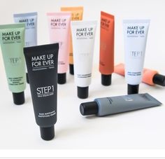 "ZOOM IN: MAKE UP FOR EVER STEP 1 SKIN EQUALIZER Create a flawless canvas with 10 specially designed primers. ""Like painters, who need a perfectly smooth, even-colored and flawless canvas, makeup..."