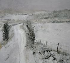 'The Knott in Snow' by Tracy Levine from the 'Cumbrian Landscapes' series