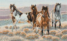 Gallery.ru / Фото #10 - 17 - 58savinkina Horses in feild 1
