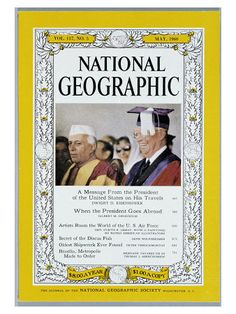 Cover of the May, 1960 Issue of National Geographic Magazine Photographic Print by Dr. Gilbert H. Grosvenor at AllPosters.com