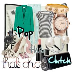 Pop the Clutch, created by minniesoda on Polyvore