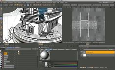 """a short video """"texture uv mapping with cinema 4D"""""""