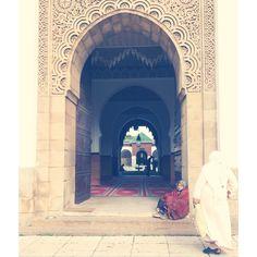 Mezquita en Rabat