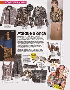 Namine na Máxima | Abril 2013 - pag. 16 - Saia Longa Animal Print