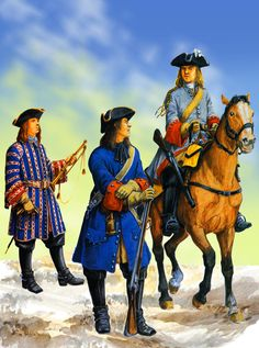 Royal Carabiniers of King Louis XIV of France