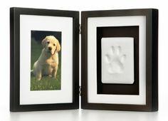 Amazon.com: Pearhead Pawprints Pet Memorial Desk Frame , Black: Pet Supplies