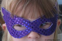 CraftSanity – A blog and podcast for those who love everything handmade » CraftSanity On TV: A Superhero Mask Tutorial