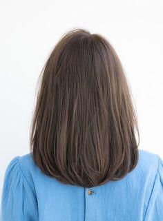 Haircuts Straight Hair, Haircuts For Medium Hair, Medium Hair Cuts, Short Hair Cuts, Medium Hair Styles, Short Hair Styles, Mid Length Straight Hair, Korean Short Hair, Retro Hairstyles