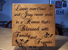 Family Quotes | family sayings | O'Reilly Tiles