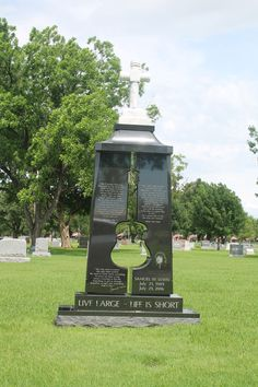 Marker- Samuel Lewis, Guitar Cut Out at the Mount Olivet Cemetery Fort Worth,