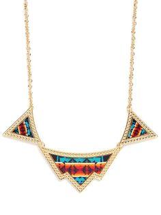 Navajo necklace via baublebar