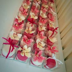 Wedding Venue, Marquee Wedding, Cup Cakes, Pink & White, Flowers, Shipley, West Yorkshire