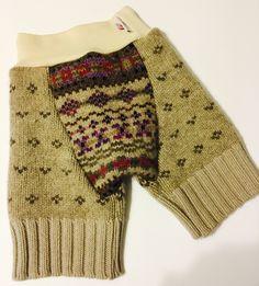 Hybrid Recycled Wool Shorties - Medium 12-24 Months