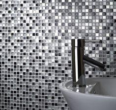 Stardust Glass & Metal mosaic just £9.60 per sheet