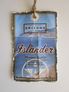 Arizona young men's seasonal hangtag. by Ronny Duwe, via Behance