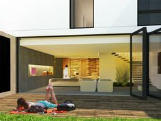 GUEST HOUSE by Paulo Martins, via Behance