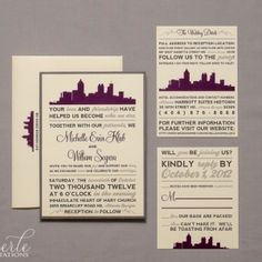 Atlanta Skyline...can be designed with any major city in US or international.