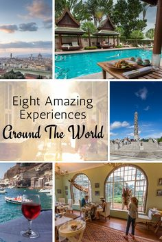 If I could travel anywhere tomorrow, where would I go? These are my eight favorite places from travels to 80 countries. Add them to your bucket list!