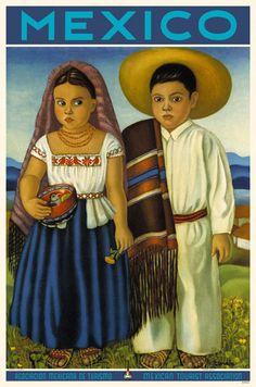 PAREJA INDIGENA - Indigenous Children | painting | online home furniture