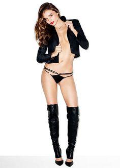 "Miranda Kerr photographed by Terry Richardson in a photo shoot called ""She's The Boss"" for ""Harper's Bazaar"" Australia magazine jan 2014......"