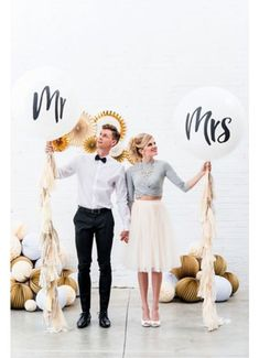 Wedding balloons, Mr